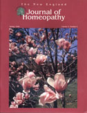 New England Journal of Homeopathy - Classical Homeopathy Articles & Reviews :  nurse nd homeopathy book